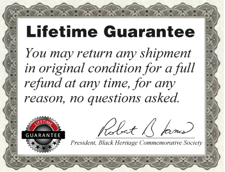 Lifetime Guarentee Certificate